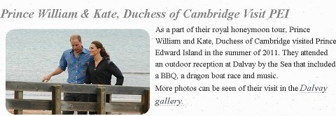 Prince William and Kate, Duchess of Cambridge - Dalvay by the Sea