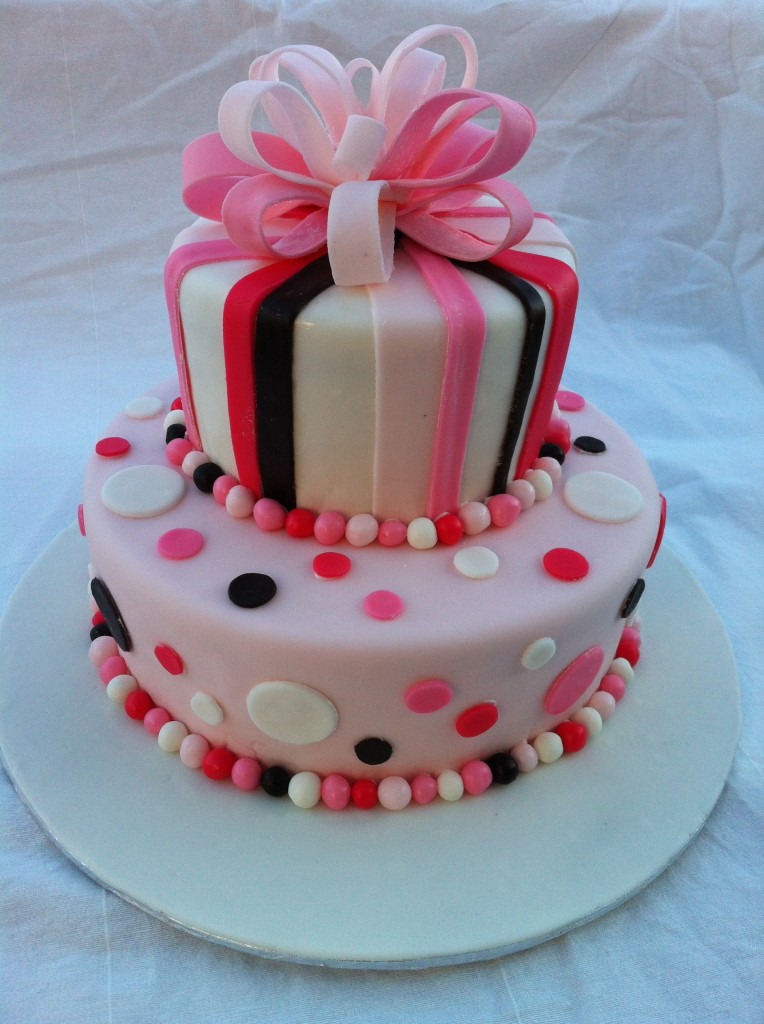 Image Of Baby Birthday Cake