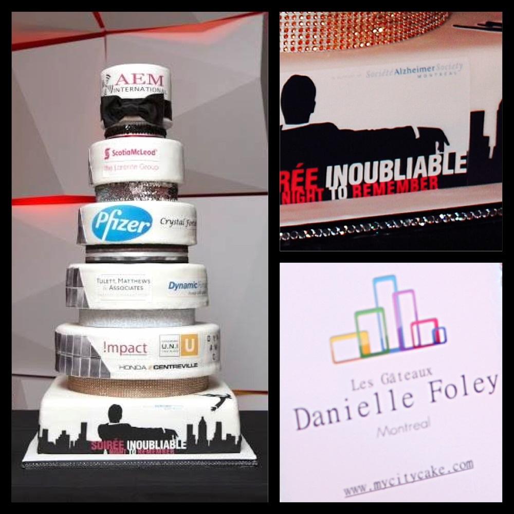corporate fundraising cake