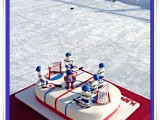 montreal canadians cake