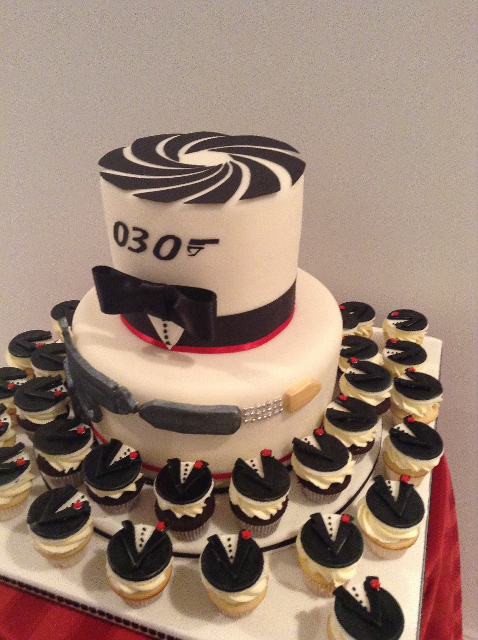 James Bond Cake Ideas