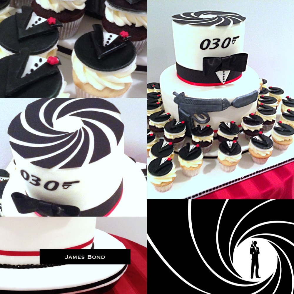 James Bond Birthday Cake Images