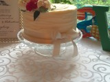 rustic wedding cake montreal