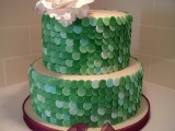 sequins wedding cake montreal