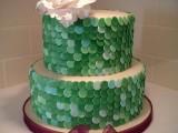 sequins wedding cake montreal