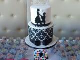 demask wedding cake montreal