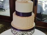scroll wedding cake montreal