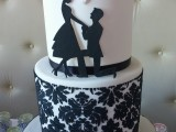 demask engagement cake montreal