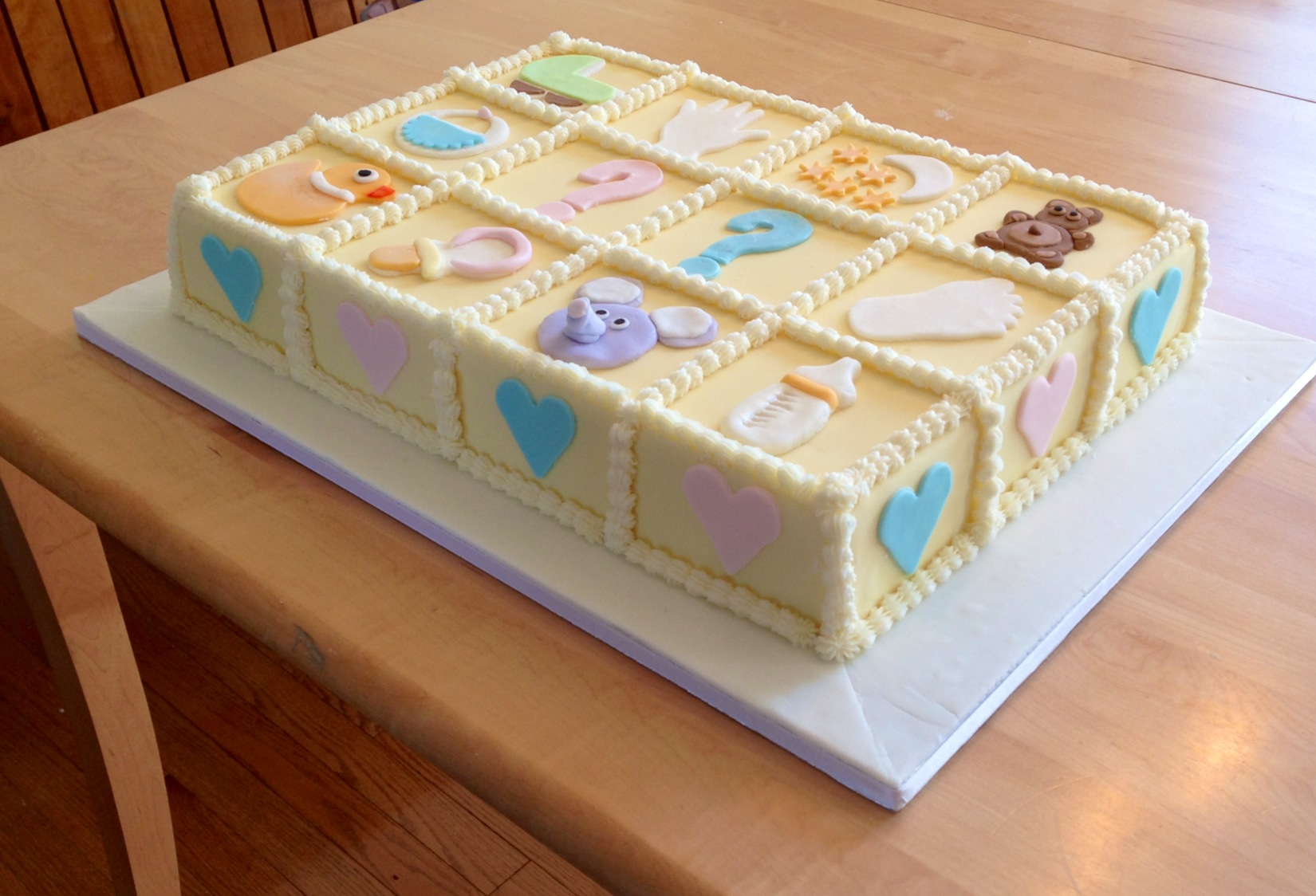 Baby Shower Cakes Montreal ~ Baby shower cake montreal g teau de ville
