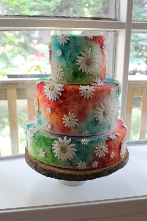 Flower cake, Montreal. My City Cake
