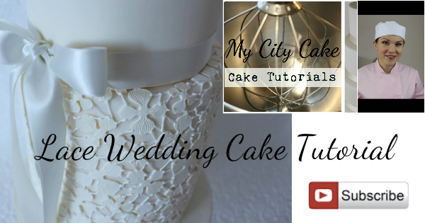 Learn How To Make Your Own Edible Lace Cake