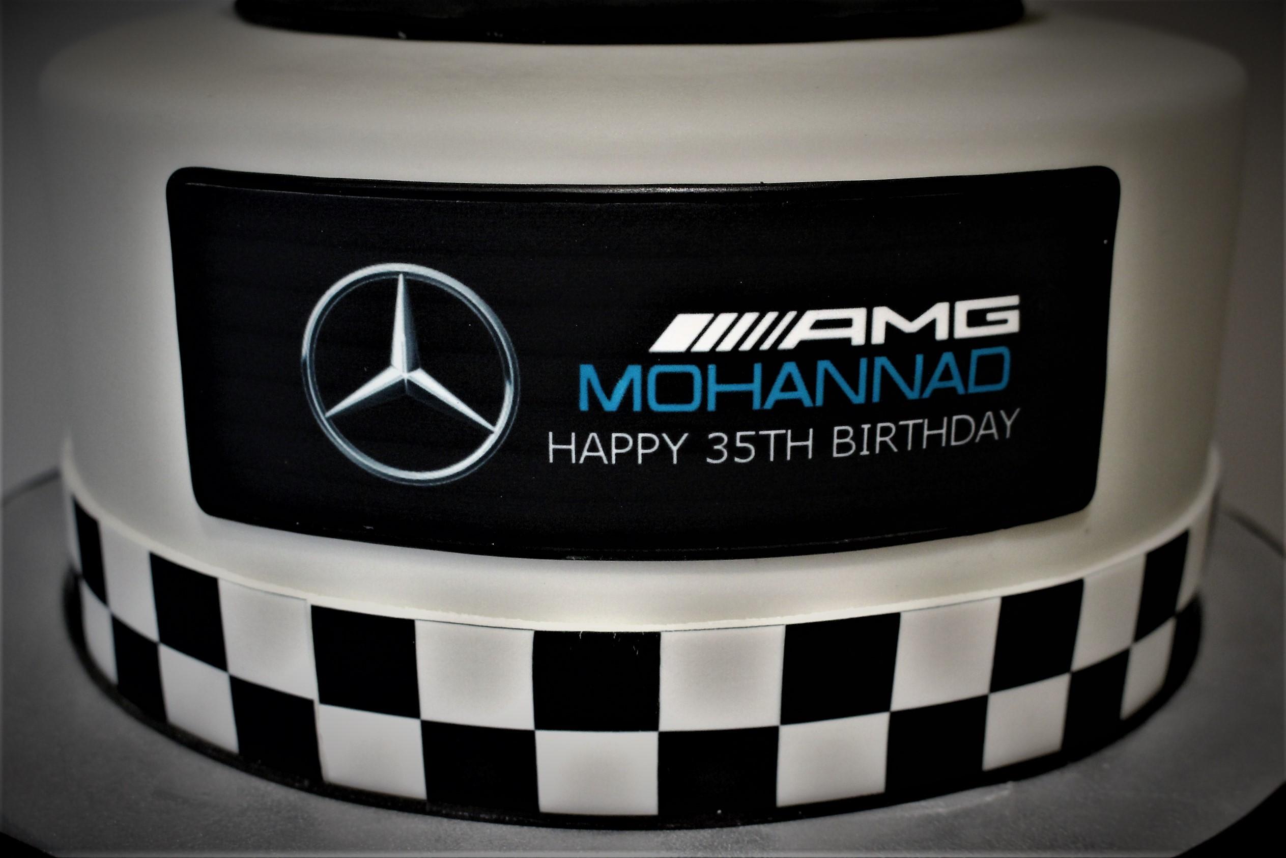 F1 cake mercedes