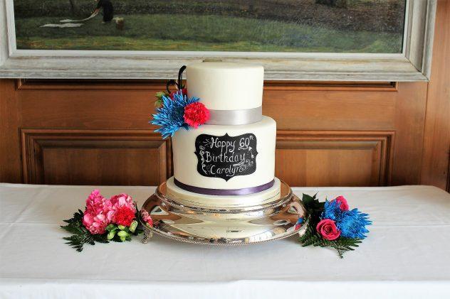 cake gallery-chalkboard style cake